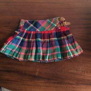 Other - Girls Ralph Lauren Plaid mini skirt.